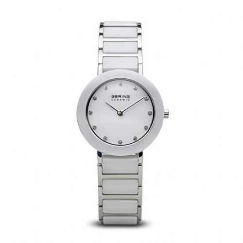 Bering Ladies Round White Ceramic Bracelet | Bering Watch | 11429-754